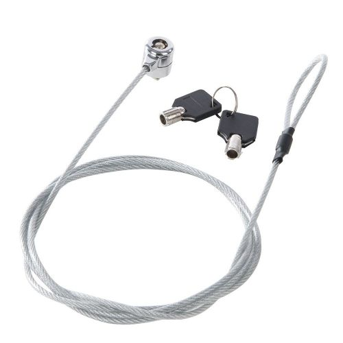 Silverline 355389 Steel Cable Universal Laptop Lock 1.8m